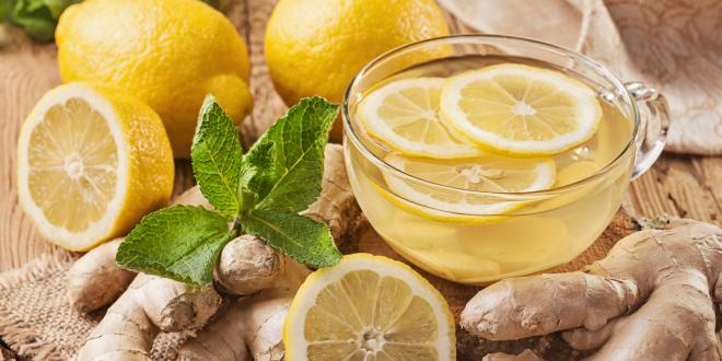 Lemon, ginger, and other digestive foods